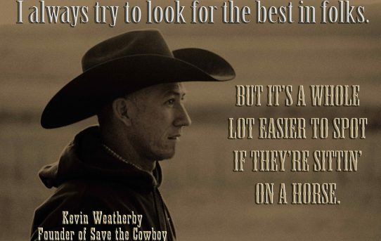 Horses bring out the best in us all – Save the Cowboy