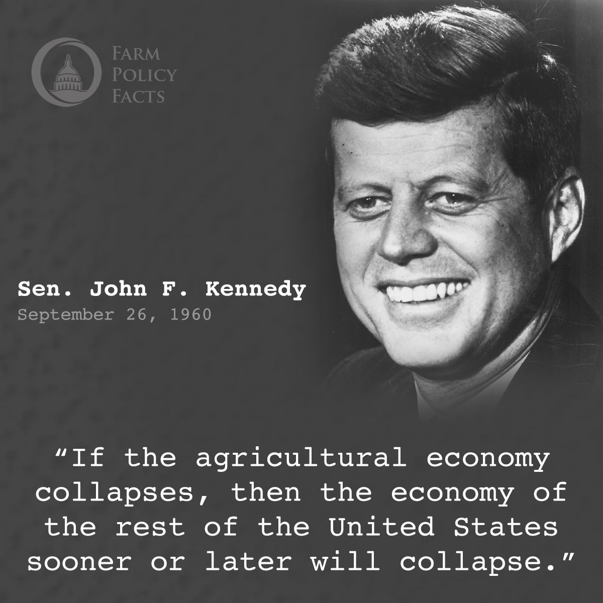 The Backbone of America - Farm Policy Facts