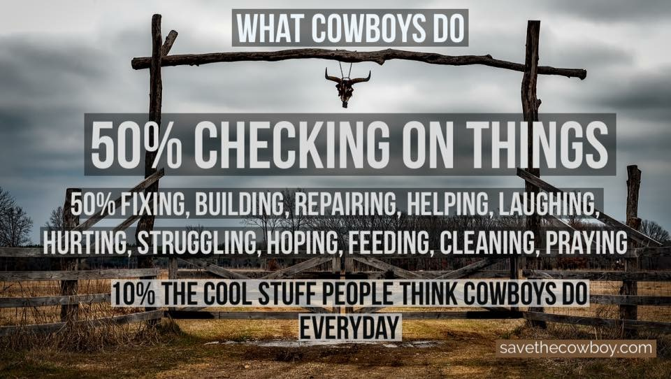What Cowboys Do - Save the Cowboy